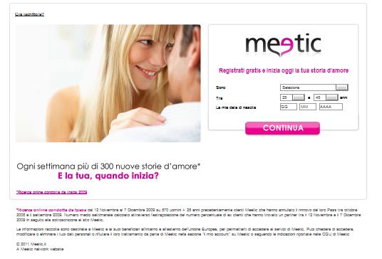 Meetic pagamento: valore e fiducia per te online