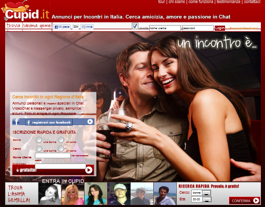 SITO PER SINGLE ONLINE CUPID