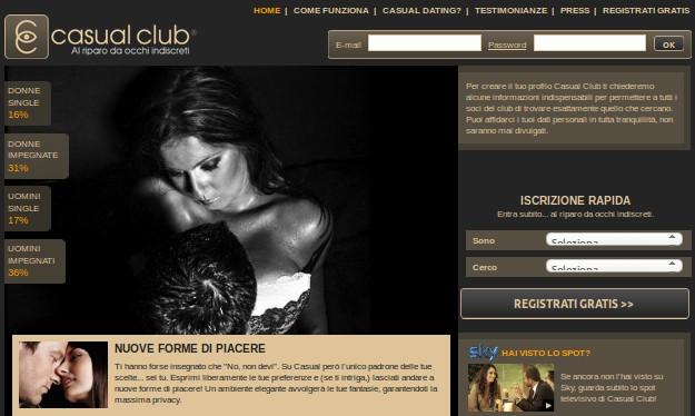 club e Incontri sposati
