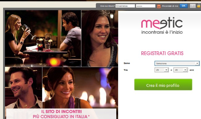 Meetic pagamento chat